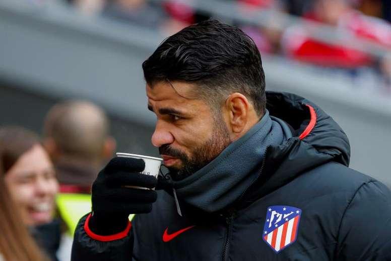 Diego Costa não terá substituto. EFE/Emílio Naranjo