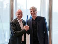 La FIFA confirmó el 'fichaje' de Wenger. EFE