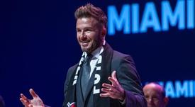 L'ex stella dell'Inghilterra e del Man. Utd David Beckham. EFE