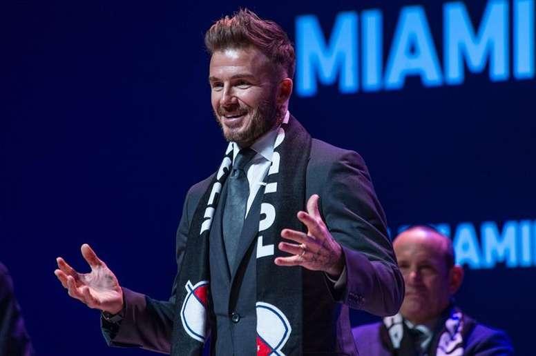 Beckham s'attaque au Barça et contacte Busquets. EFE