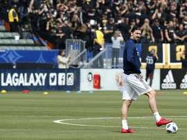 Ibrahimovic se va con el palmarés en blanco. EFE/EPA/PAUL BUCK/Archivo