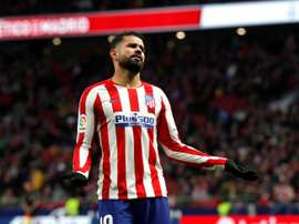 L'attaccante brasiliano dell'Atletico Madrid Diego Costa. EFE