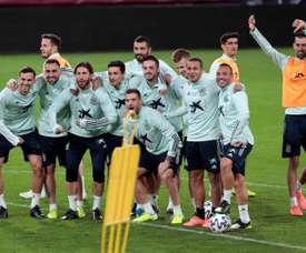 L'Espagne affrontera la Lituanie avant l'Euro 2020. EFE/Román Ríos