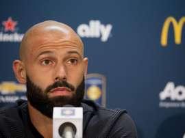 Mascherano s'est exprimé au sujet de Barça - Bayern. EFE