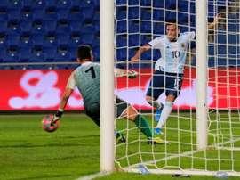 La Sub 23 Argentina no tuvo piedad. EFE