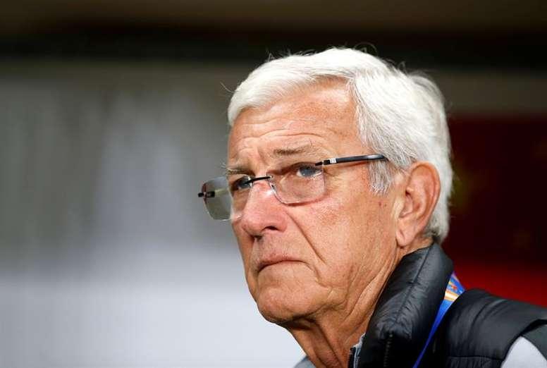 Lippi renunció en rueda de prensa. EFE
