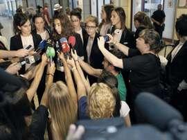 Huelga indefinida del fútbol femenino español. EFE/Archivo