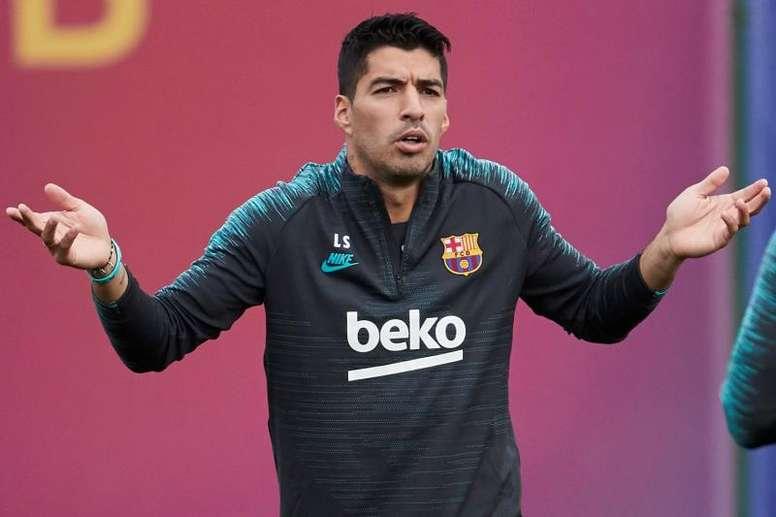 Luis Suarez fait le bilan. EFE