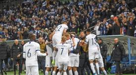 Finlandia estará por primera vez en la Eurocopa. EFE