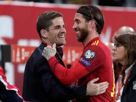 Sergio Ramos analizó el partido. EFE