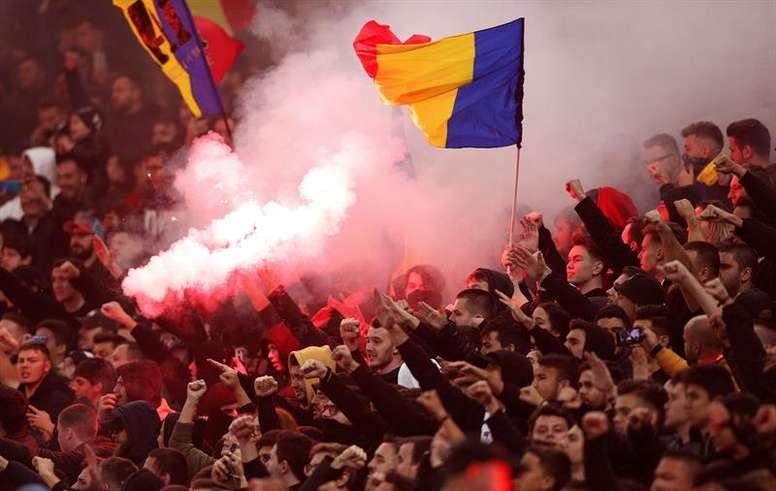 La Liga Rumana podría quedarse sin campeón oficial. EFE/EPA
