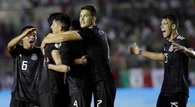 México firmó un partido muy serio ante Panamá. EFE