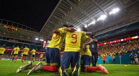 Colombia, ante Ecuador sin James. EFE