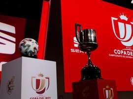 Se sortea la primera ronda de la Copa. EFE/Zipi