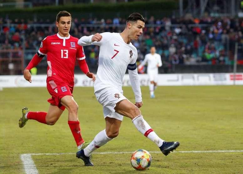 Portugal se clasificó para la Eurocopa 2020. EFE/EPA/JULIEN WARNAND