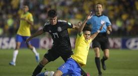 Marco Antonio Ruiz, seleccionador mexicano Sub 17, criticó el uso del VAR. EFE
