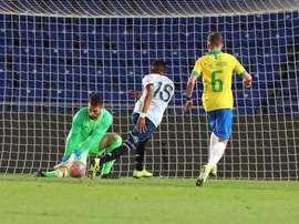 Barça de olho em jovem goleiro brasileiro. EFE/Elvira Urquijo