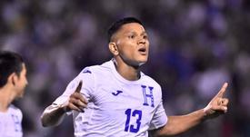 Superioridad hondureña para confirmar su presencia en la Copa Oro. EFE/Jose Valle