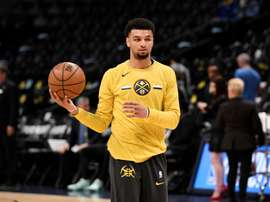 Jamal Murray de Denver Nuggets. EFE/Todd Pierson/Archivo