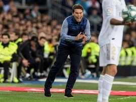 A borrar el derbi y ganar al Valencia en el Betis. EFE