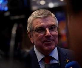 El presidente del Comité Olímpico Internacional (COI) Thomas Bach. EFE/ Christian Ugarte/Archivo