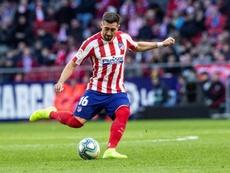 Héctor Herrera analizó sus pocos minutos en el Atlético de Madrid. EFE