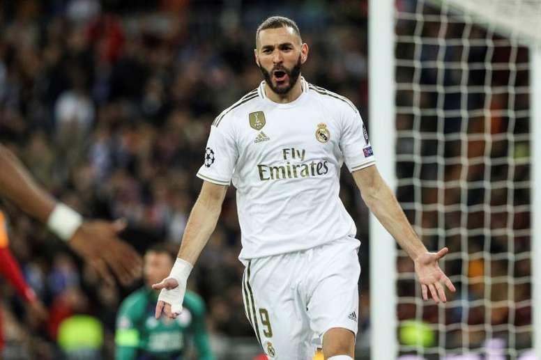 Benzema não poderá jogar com a Argélia. EFE/ Rodrigo Jiménez