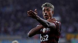 Torcida do Flamengo compara Bruno Henrique a Cristiano Ronaldo. EFE