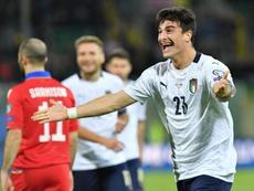 Italia arrolla a Armenia y llega a la Eurocopa con el pleno de victorias. EFE