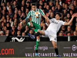 El Valencia se ha acostumbrado a golear en Sevilla. EFE