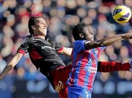 Imágenes de aquel Levante-Mallorca de 2012. EFE