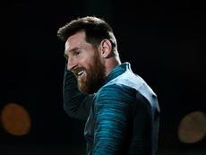 Lautaro ha encajado bien en Argentina con Messi. EFE