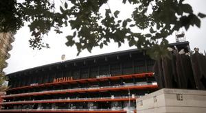Aviso de cara al Valencia-Chelsea de Mestalla. EFE