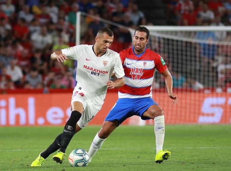 El Sevilla podría tener otra baja que no esperaba. EFE
