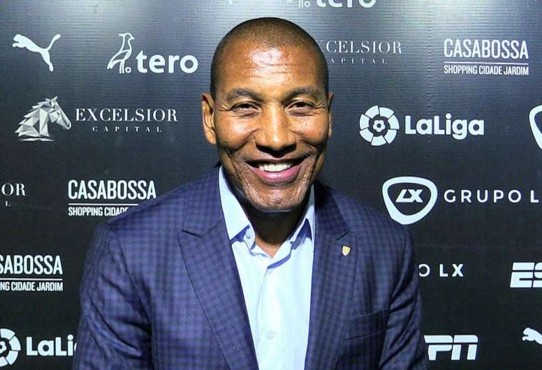 Mauro Silva advierte de que en las finales no hay favoritos. EFE