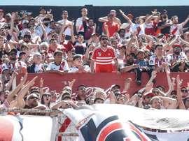 River Plate, con ventaja en el historial ante Flamengo. EFE