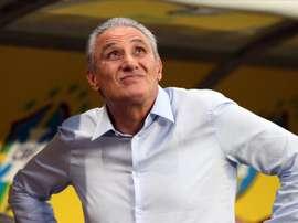 Tite valoró la actuación de Rodrygo con Brasil. EFE/EPA