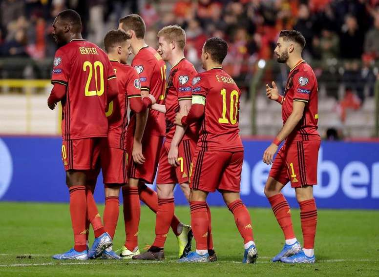 Bélgica es una máquina. EFE