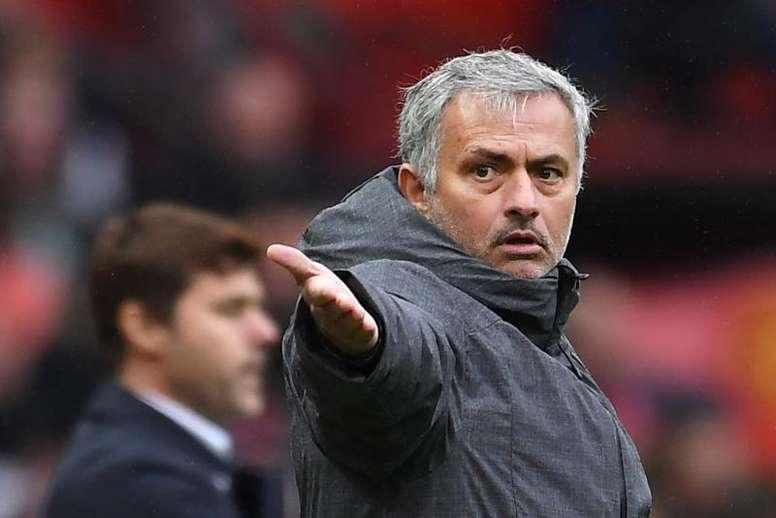 Mourinho è il tecnico del Tottenham. EFE