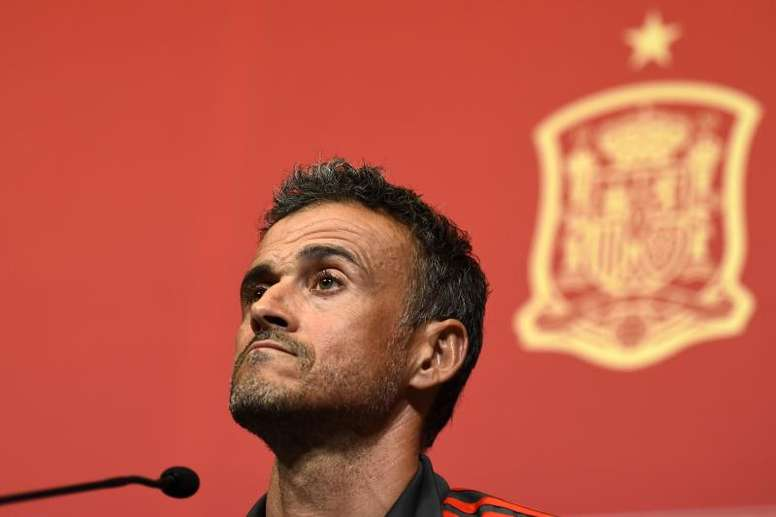Enrique is the new manager. EFE/EPA