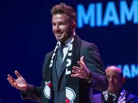 L'Inter veut que Beckham change le nom de son équipe. EFE