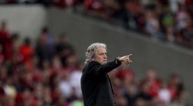 Flamengo oferece novo contrato para Jorge Jesus até dezembro de 2020. EFE/Antonio Lacerda/Archivo