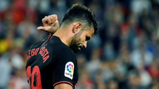 L'AS Roma passe à l'attaque pour Diego Costa. EFE