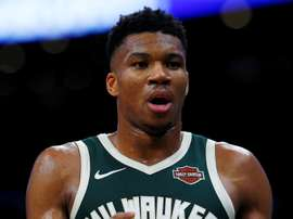 Milwaukee Bucks forward Giannis Antetokounmpo. EFE/EPA/Archivo