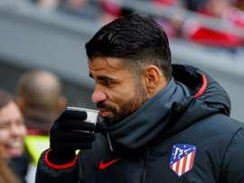 Diego Costa opéré avec succès. EFE