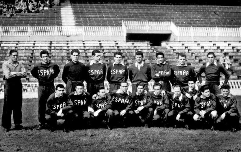 España debutó en Bilbao en 1921. EFE
