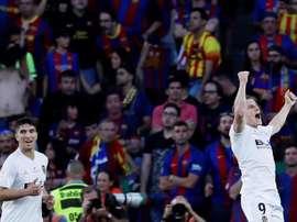 El Valencia visita el Villamarín, donde se proclamó rey de Copa. EFE