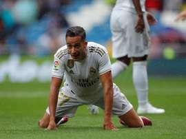 L'attaccante spagnolo del Real vazquez out un mese e mezzo. EFE