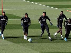 I giocatori del Real Madrid sono rientrati dagli impegni con le nazionali. EFE