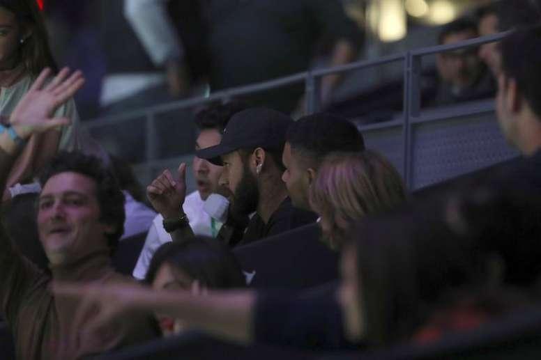 Neymar respondeu a Tuchel com uma enigmática mensagem. EFE